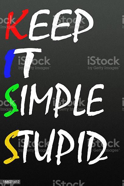 Keep it simple stupid symbol picture id188021412?b=1&k=6&m=188021412&s=612x612&h=l fqjjw6vgy6tqpxxhcbxnjqd7cvze9kpehaevwwhrq=