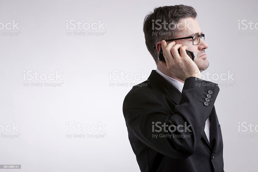 keep me informed on my mobile royalty-free stock photo