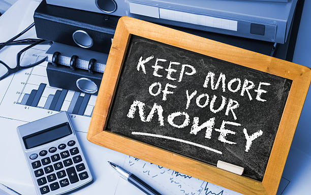 keep more of your money stock photo