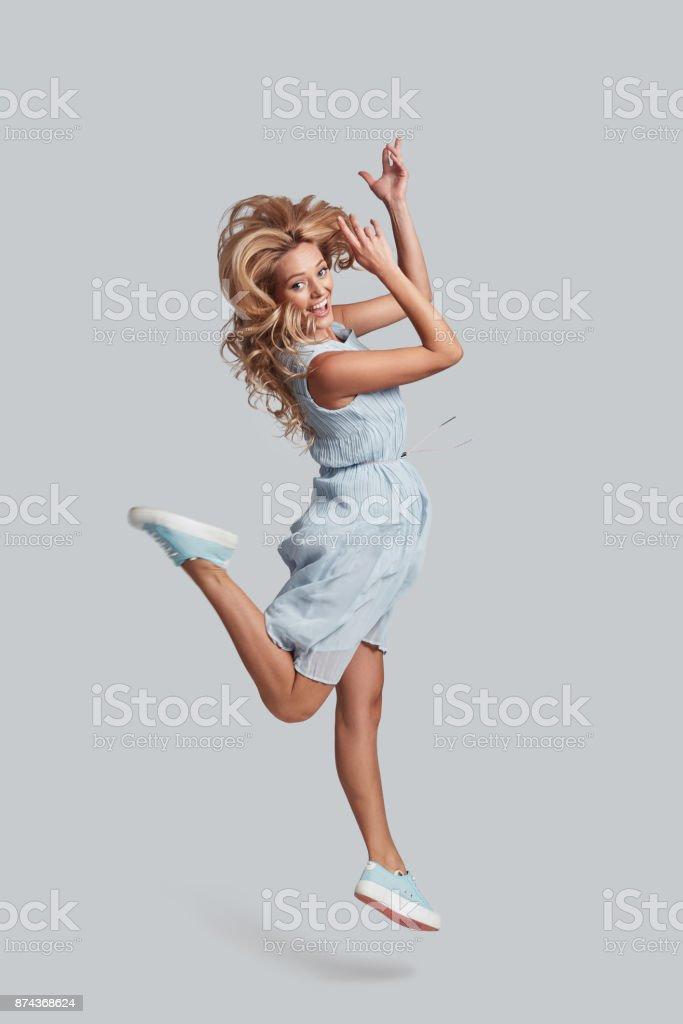 Keep moving! stock photo