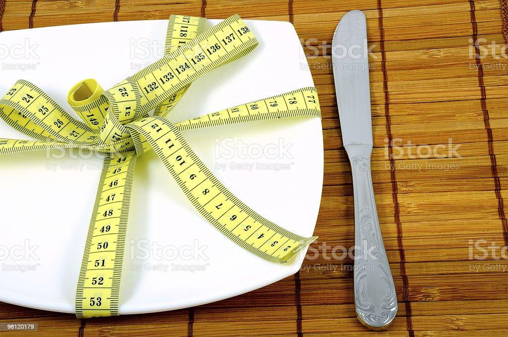 Mantenere una dieta foto stock royalty-free