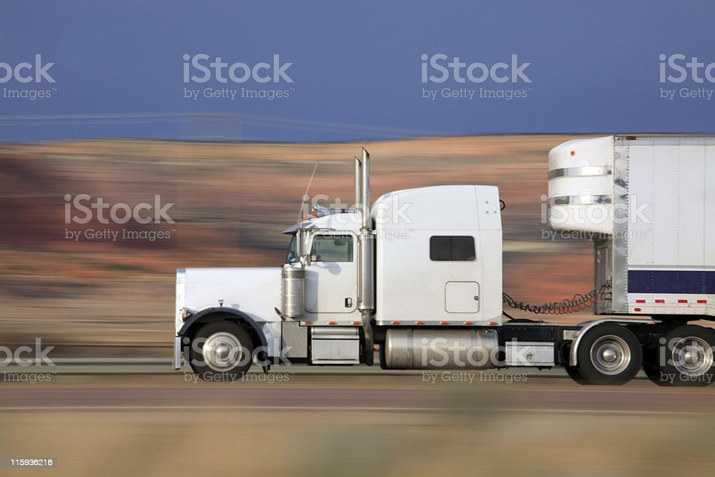 Keep on Trucking royalty-free stock photo