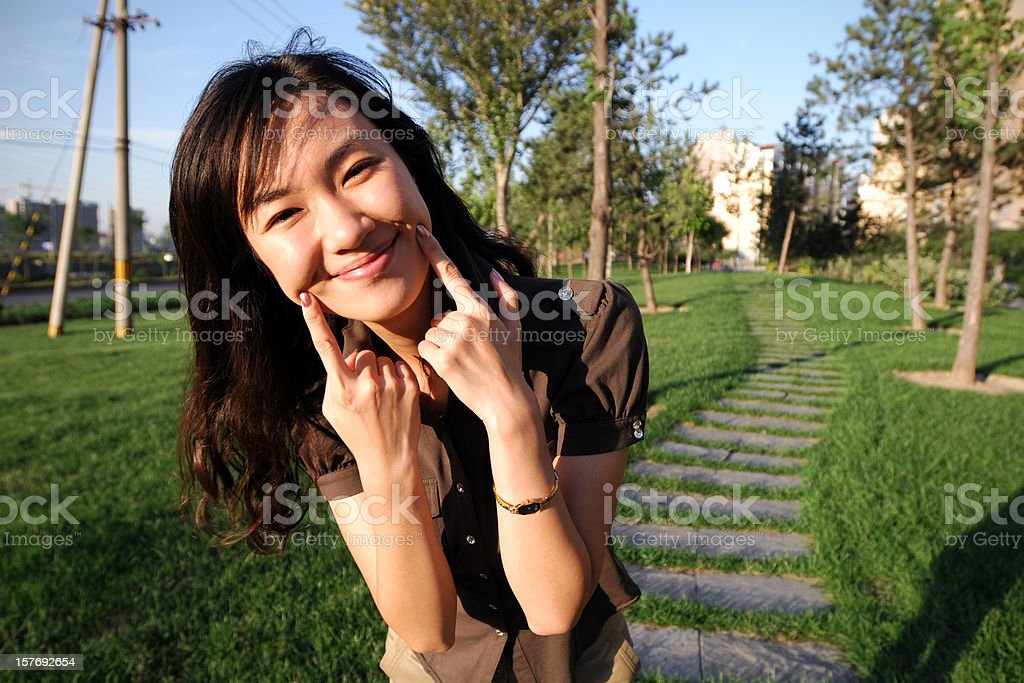 Keep Smiling royalty-free stock photo