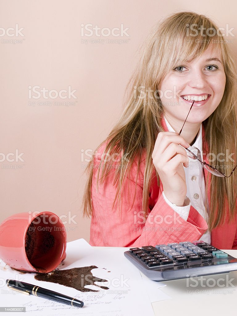 keep smilling royalty-free stock photo