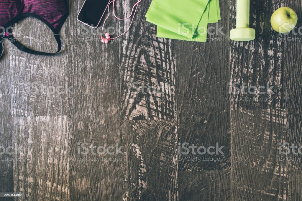 Keep strong and work out stock photo