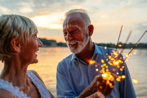 Keep that spark sparkling stock photo
