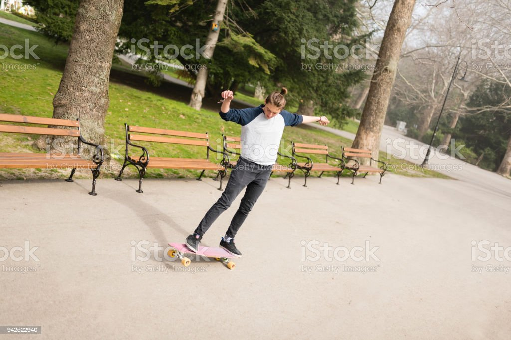 Keep the balance after school! stock photo