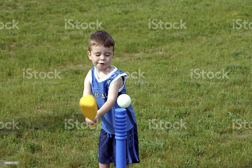 Keep Your Eye On The Ball royalty-free stock photo
