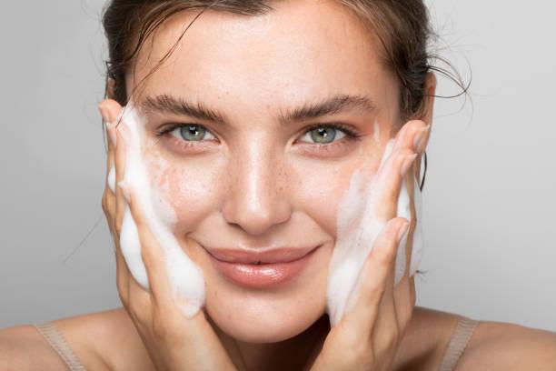 Halten Sie Ihre Haut sauber – Foto