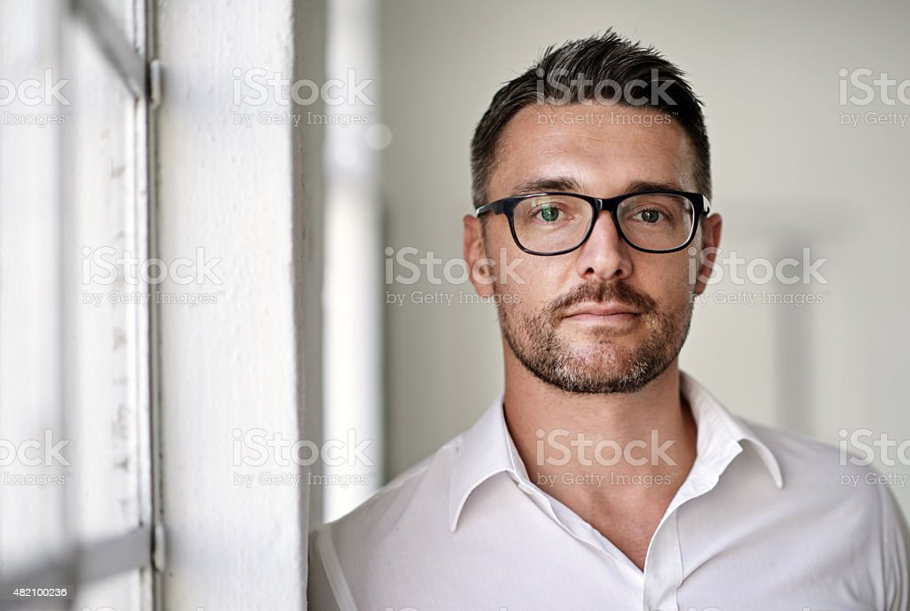 Keeping business classy stock photo