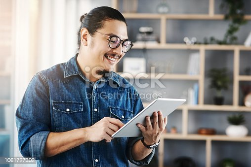 874813790 istock photo Keeping business close to him 1061727302
