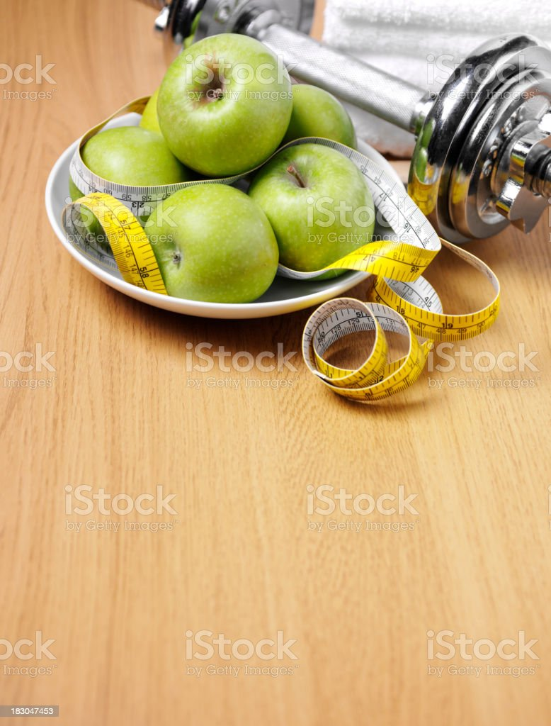 Keeping Fit and Healthy royalty-free stock photo