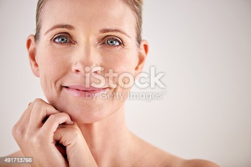 istock Keeping her skin looking great with good beauty habits 491713766