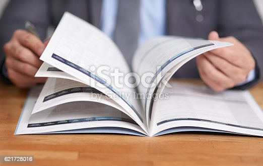 621728016istockphoto Keeping informed is the key to success 621728016