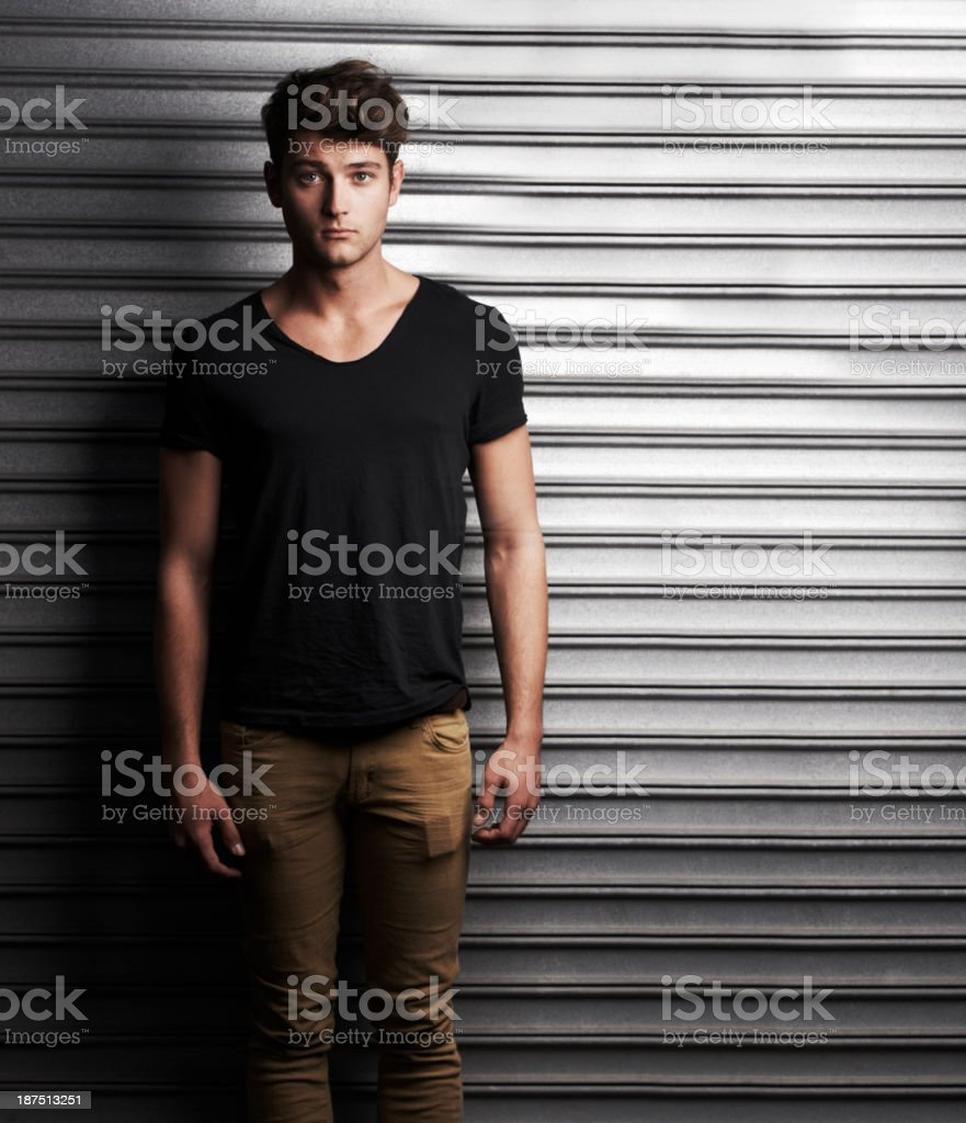Keeping it all locked up stock photo