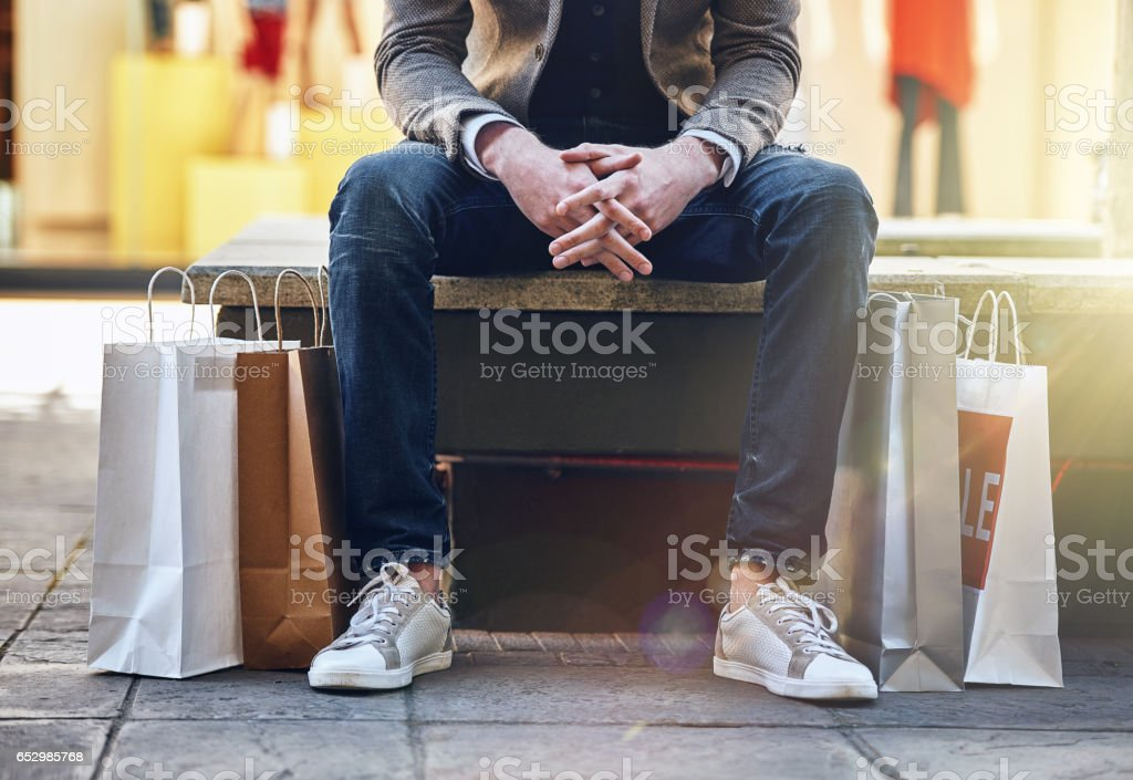 Keeping it trendy stock photo