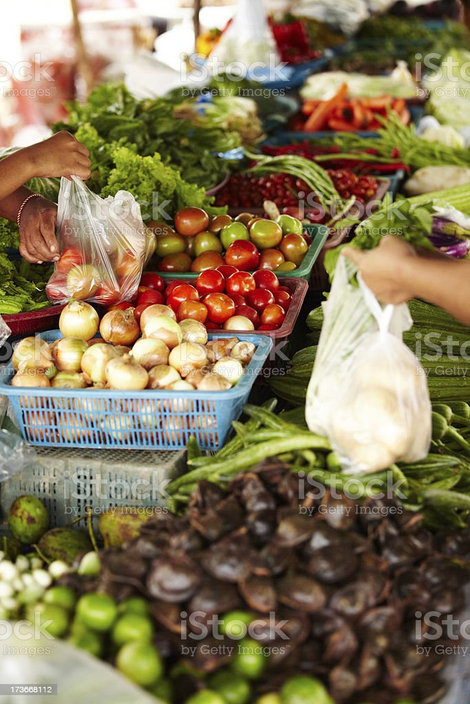 Keeping local trade alive royalty-free stock photo