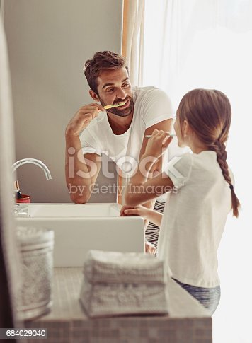 684029036 istock photo Keeping our pearly whites clean and bright 684029040