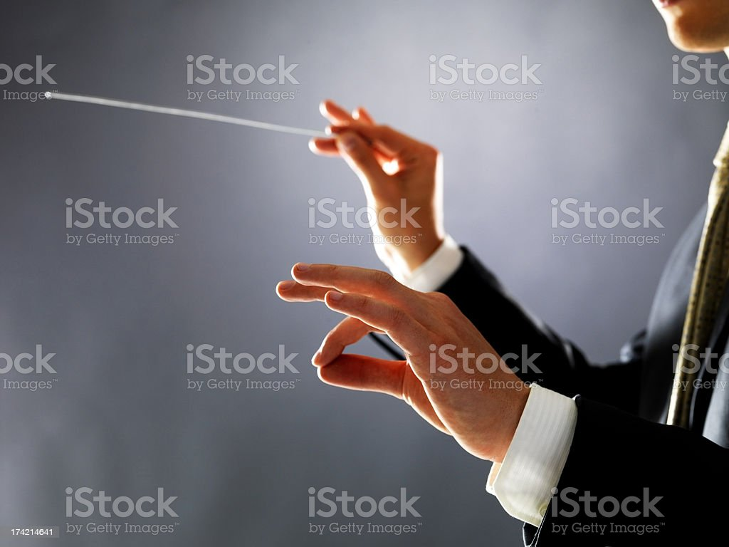 Keeping perfect time stock photo