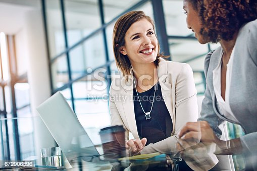 istock Keeping productivity levels up with effective collaboration 672906396