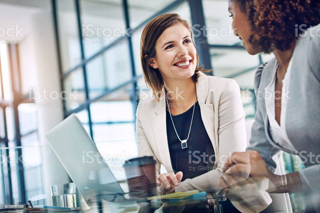 Keeping productivity levels up with effective collaboration stock photo