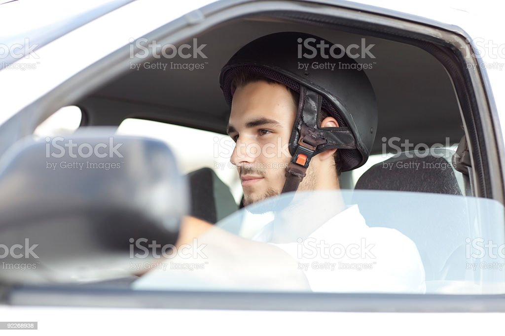 Keeping teen drivers safe. royalty-free stock photo