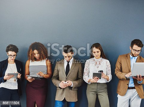 istock Keeping the anxiety at bay with wireless distractions 858111504