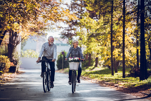 Keeping the body strong with regular bicycle rides