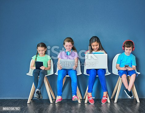 istock Keeping the boredom away with wireless technology 869258782
