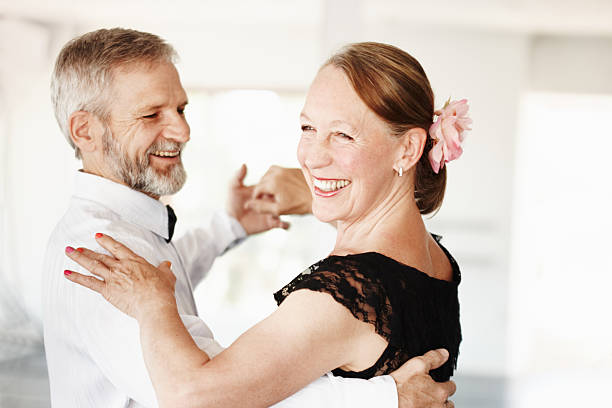 keeping the romance alive - dance class stock photos and pictures