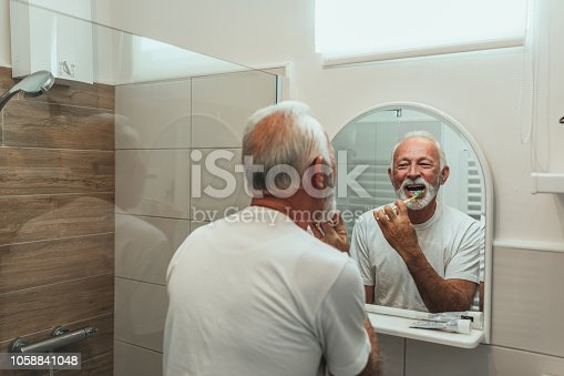 912658656 istock photo Keeping their dental hygiene in check 1058841048