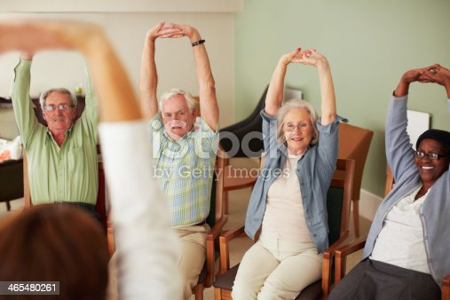 istock Keeping their muscles strong 465480261