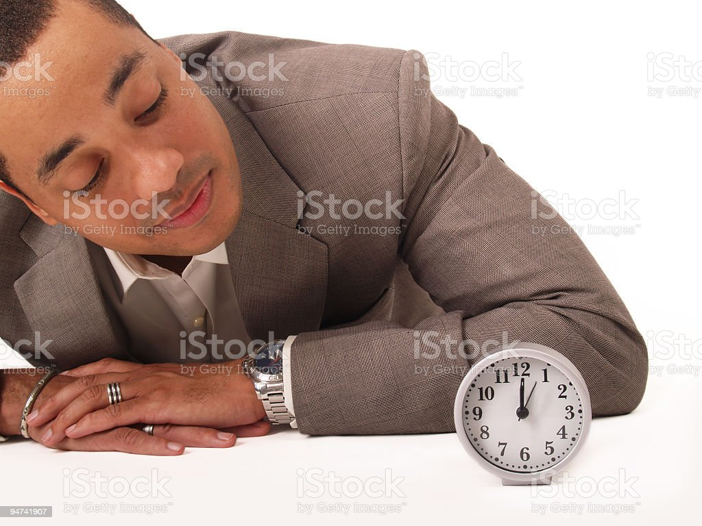 Keeping Time royalty-free stock photo