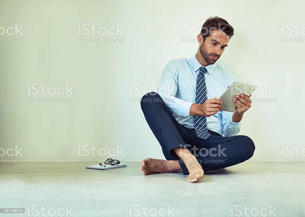 Keeping track of meetings stock photo