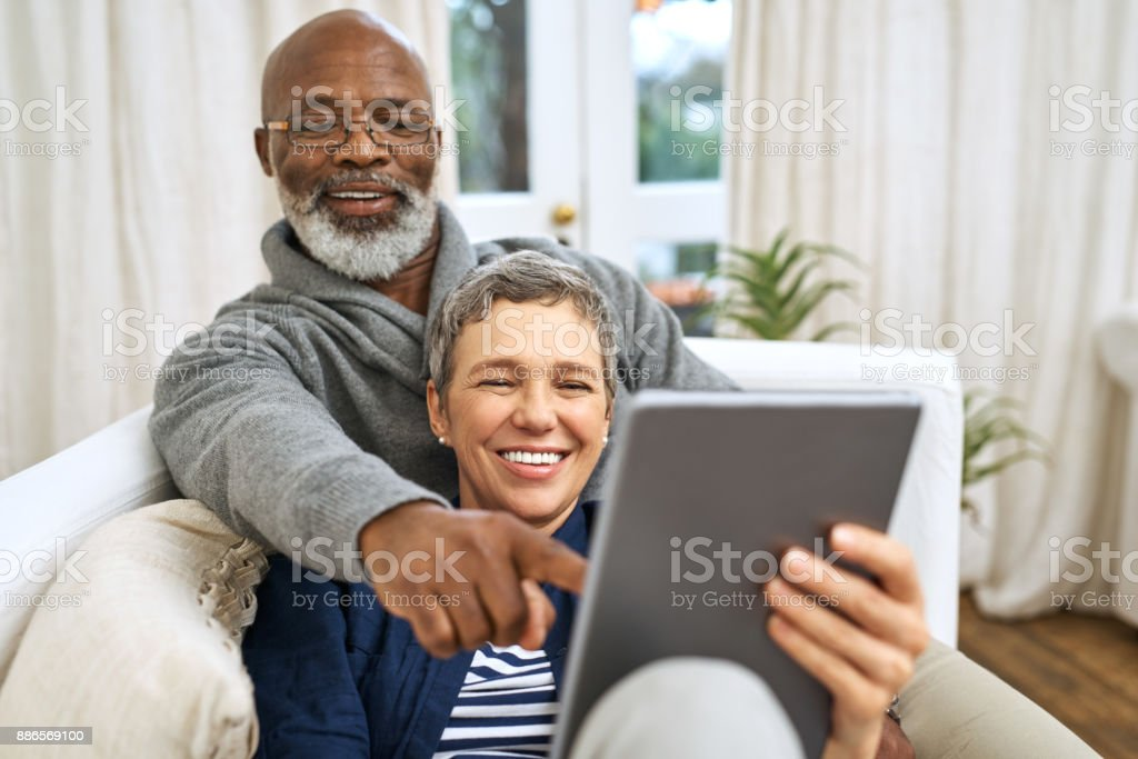 Keeping up with the times stock photo