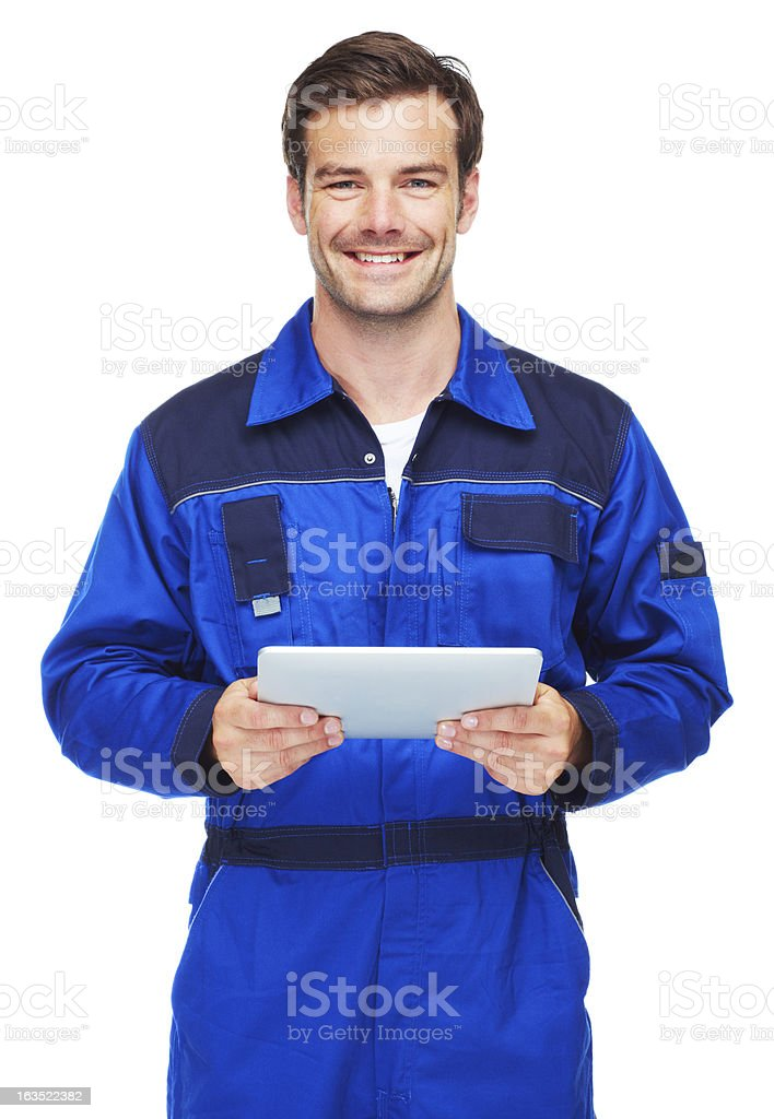 Keeping you on the road! stock photo