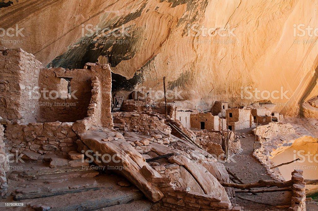 Keet Seel ruins close up, Navajo National Monument, Arizona royalty-free stock photo
