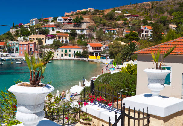 Kefalonia island in Greece stock photo
