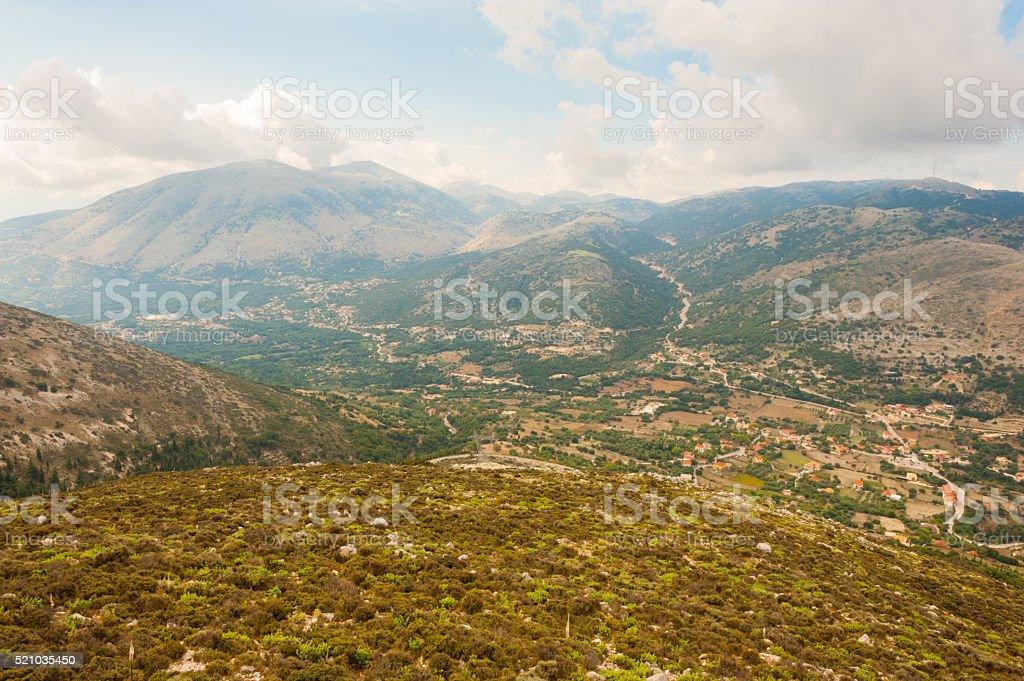 Kefalonia mainland Greece stock photo
