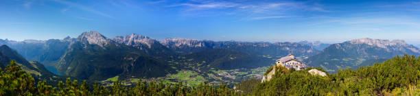 Kehlstein Mit Kehlsteinhaus, Panorama-Blick Über Berchtesgaden, 55MPx – Foto