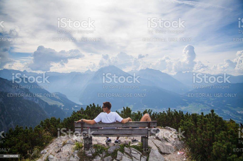 Kehlsteinhaus, Eagle Nest, Berchtesgaden in Germany stock photo