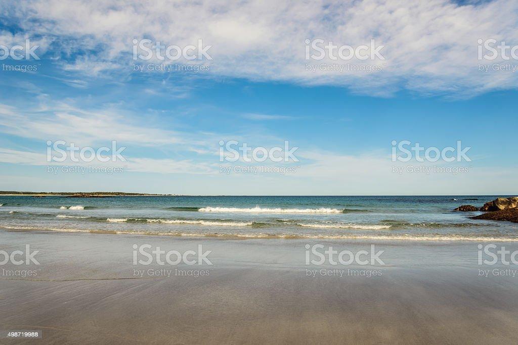 Keji Seaside beach stock photo