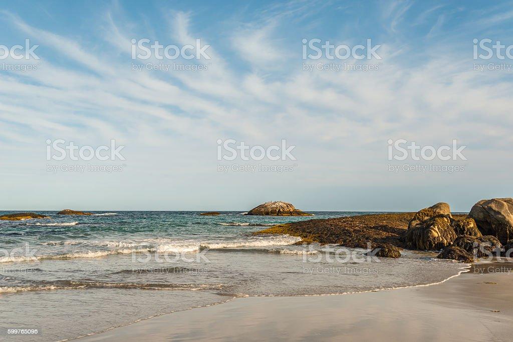 Keji Seaside coast stock photo
