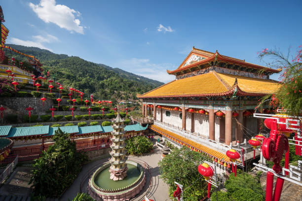 KEK Lok Si-Tempel, George Town, Penang, Malaysia – Foto
