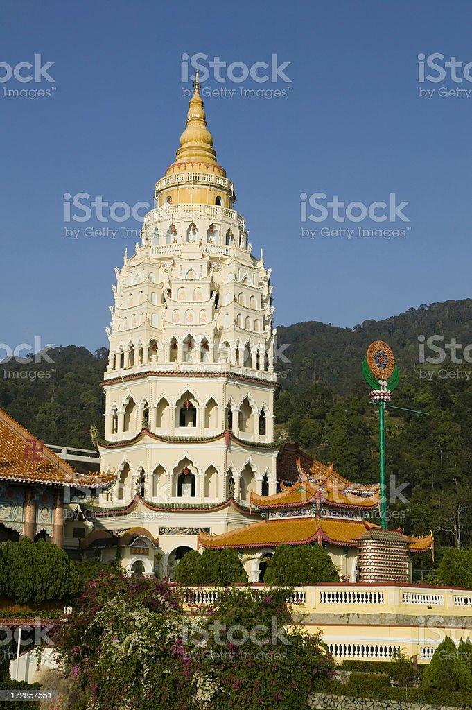 kek lok si temple penang island malaysia royalty-free stock photo