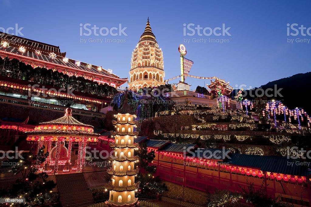 kek lok si temple penang malaysia royalty-free stock photo