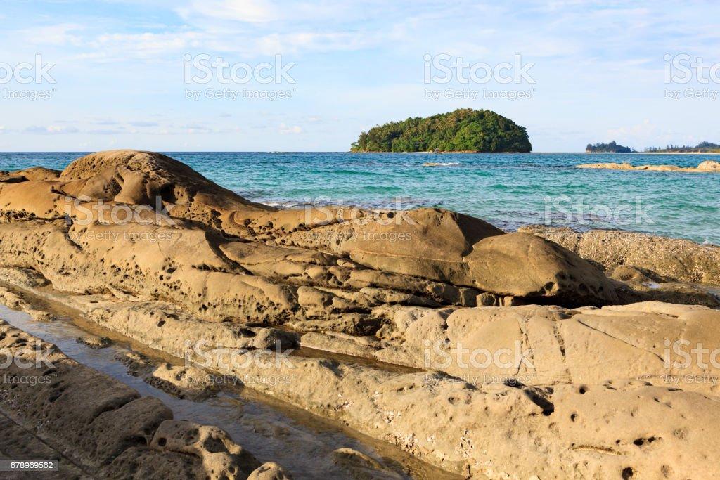 Kelambu beach malaysia photo libre de droits