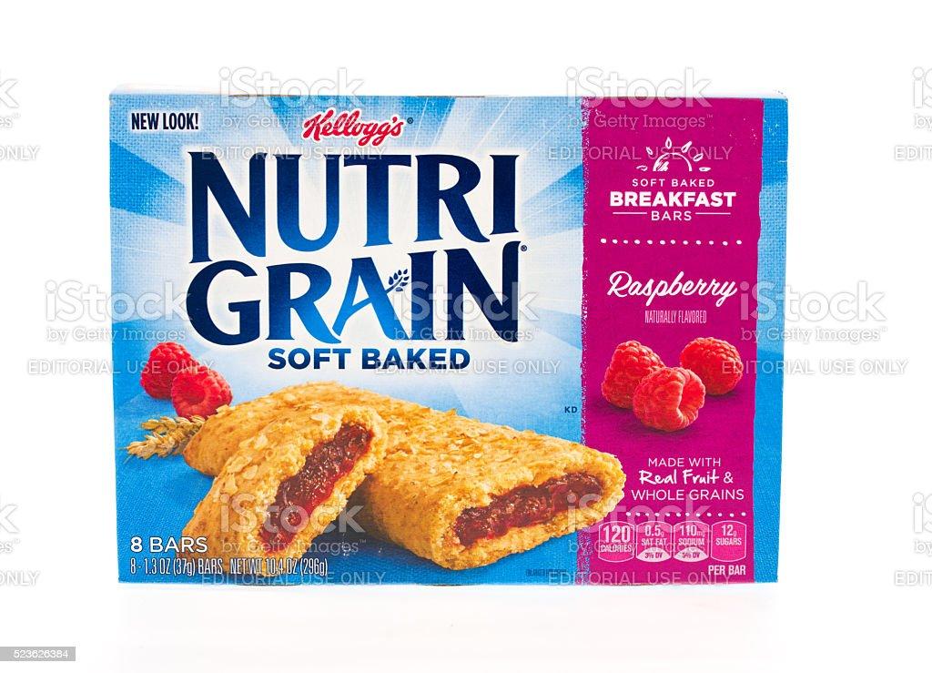 Kellogg's  Nutri Grain stock photo