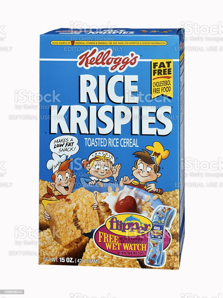 Kellogg's Rice Krispies cereal stock photo