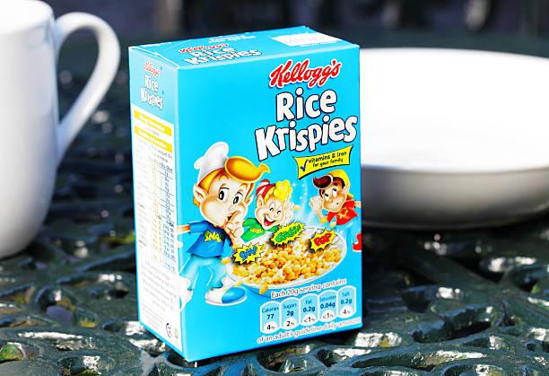 Kellogg's Rice Krispies stock photo